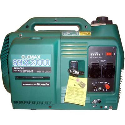 موتور برق المکس مسافرتی SHX2000